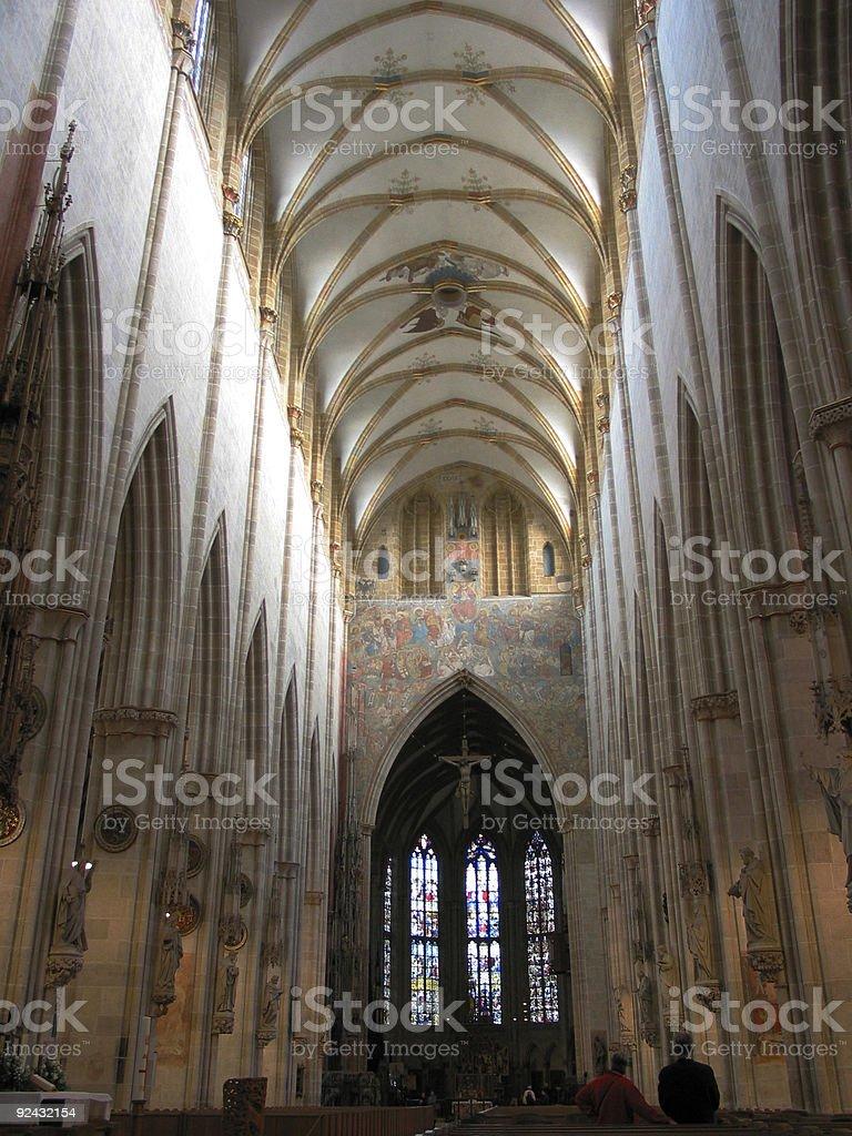 enourmous room for prayer royalty-free stock photo