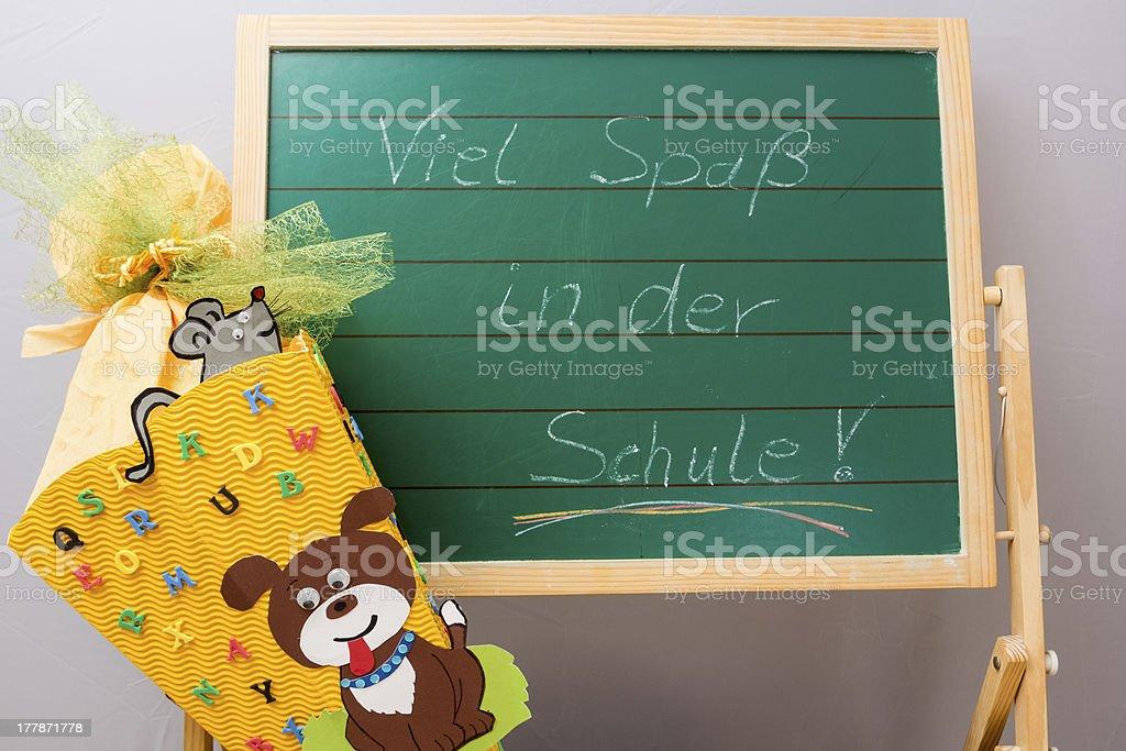 Enrollment royalty-free stock photo