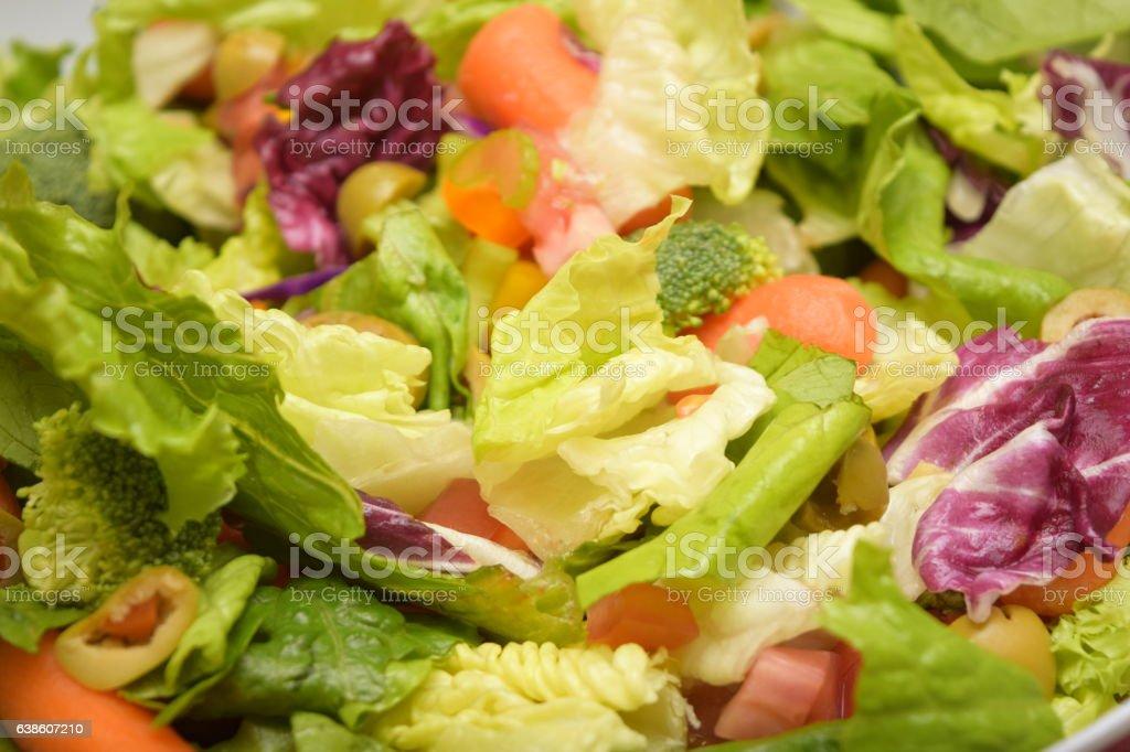 Ensalada/Salad stock photo
