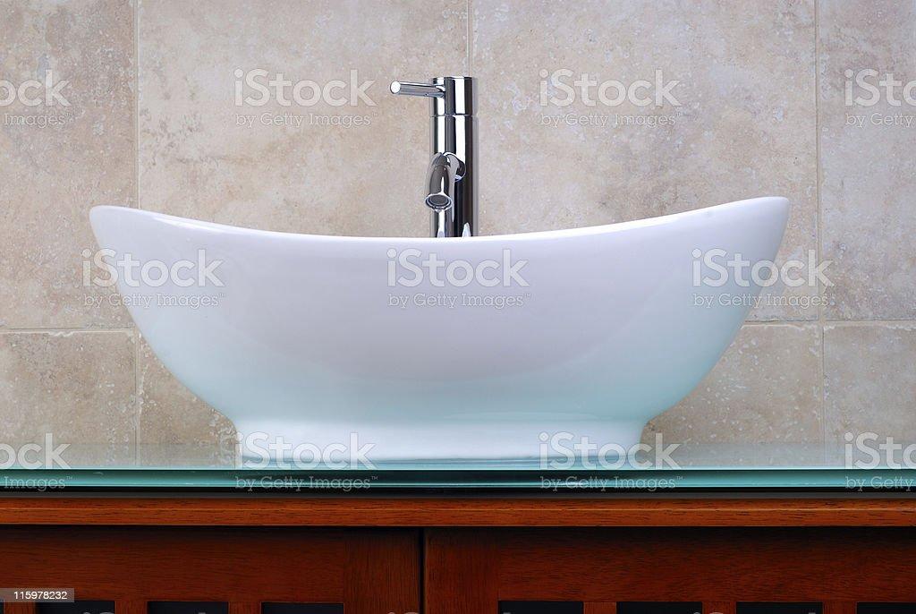 Ensuite Bathroom stock photo