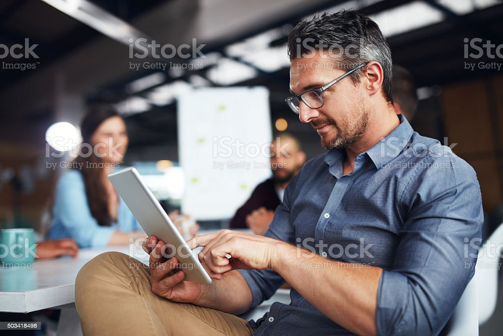 Ensuring every point is covered stock photo