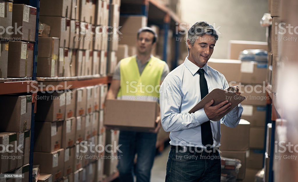 Ensuring operations run timeously and efficiently stock photo