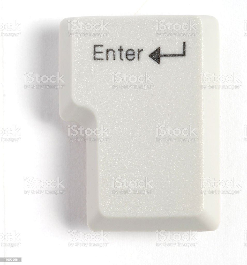 enter button stock photo