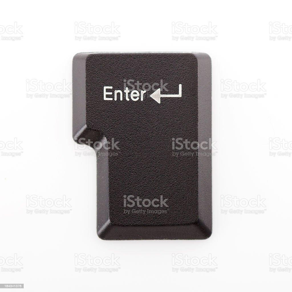 Enter Key royalty-free stock photo