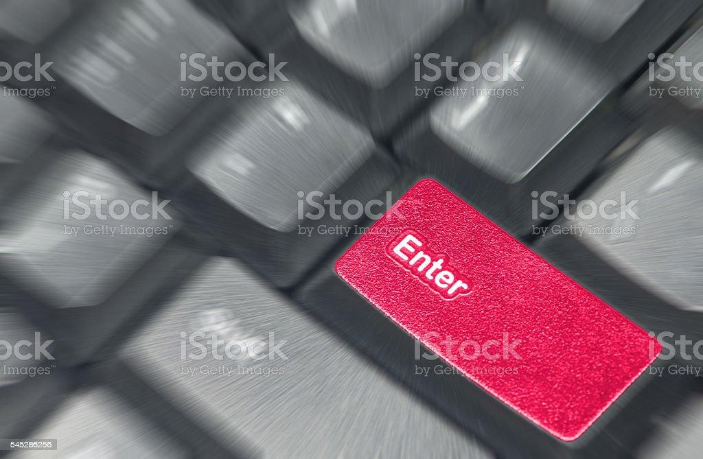 enter keyboard stock photo