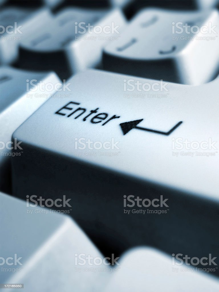 Enter my world stock photo