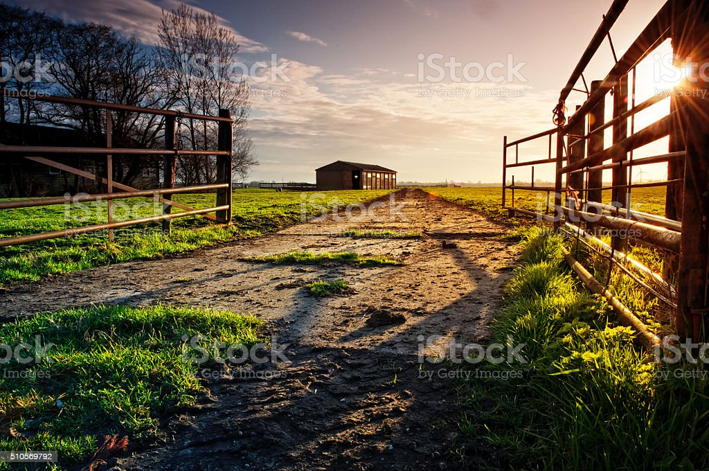 Enter the Farm stock photo