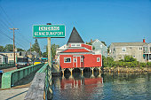 Entering Kennebunkport Maine A Village by the Atlantic Ocean