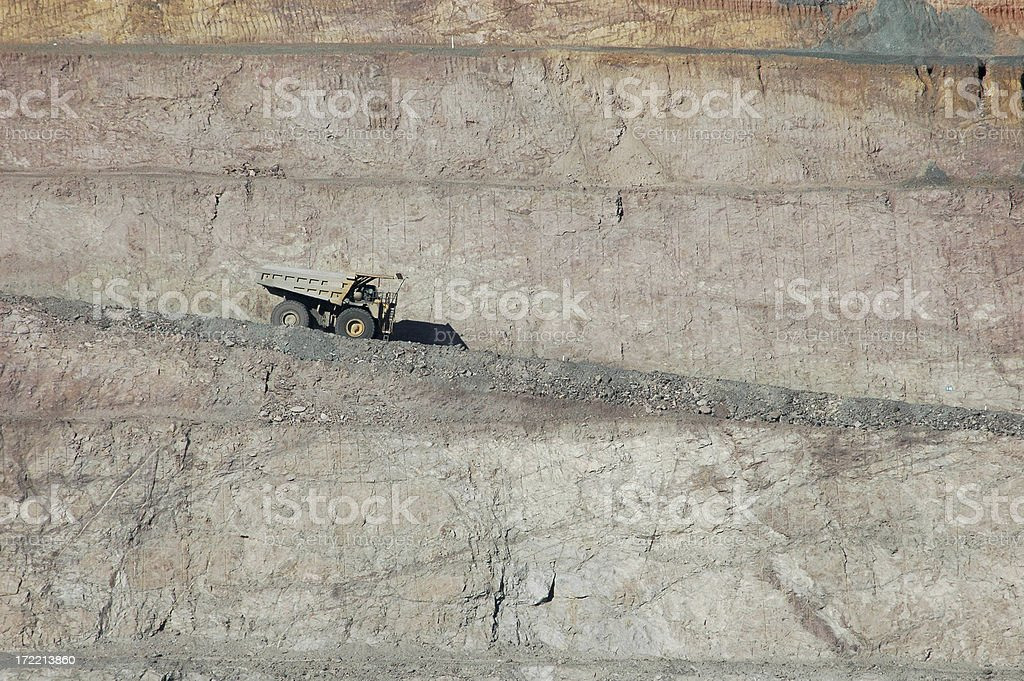 Entering the Pit royalty-free stock photo