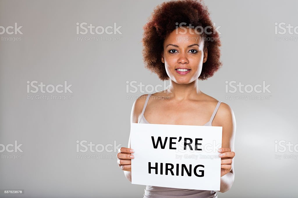 enterprise or company is hiring stock photo