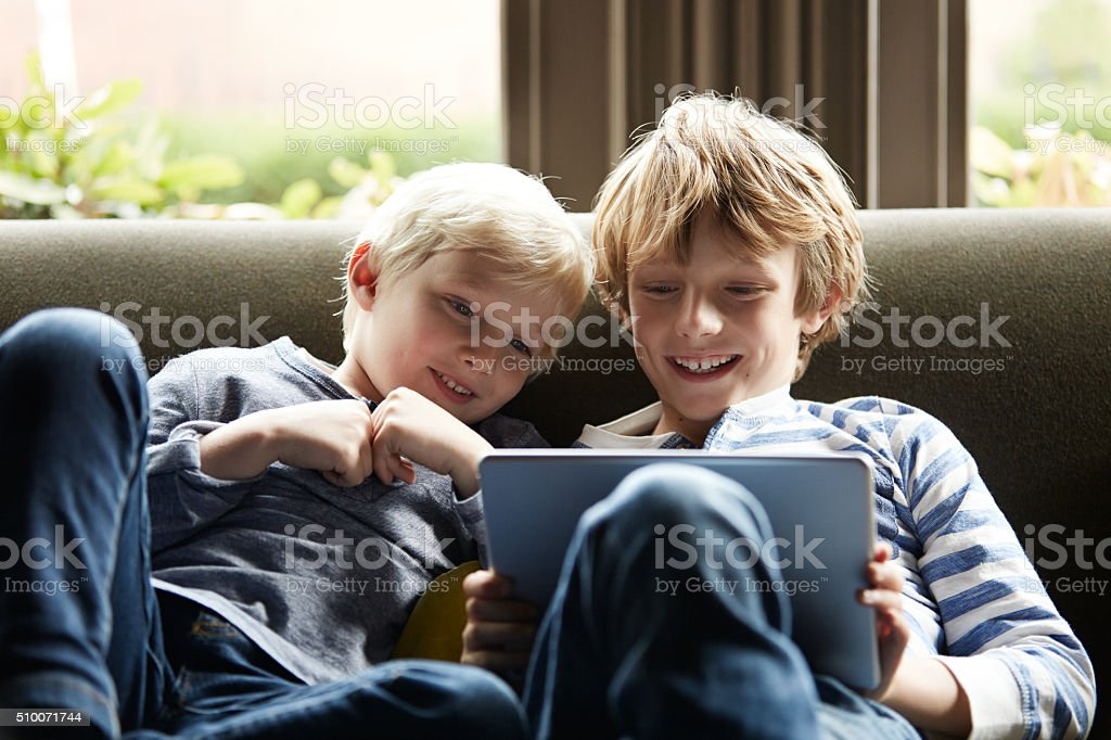 Entertained and educational stock photo