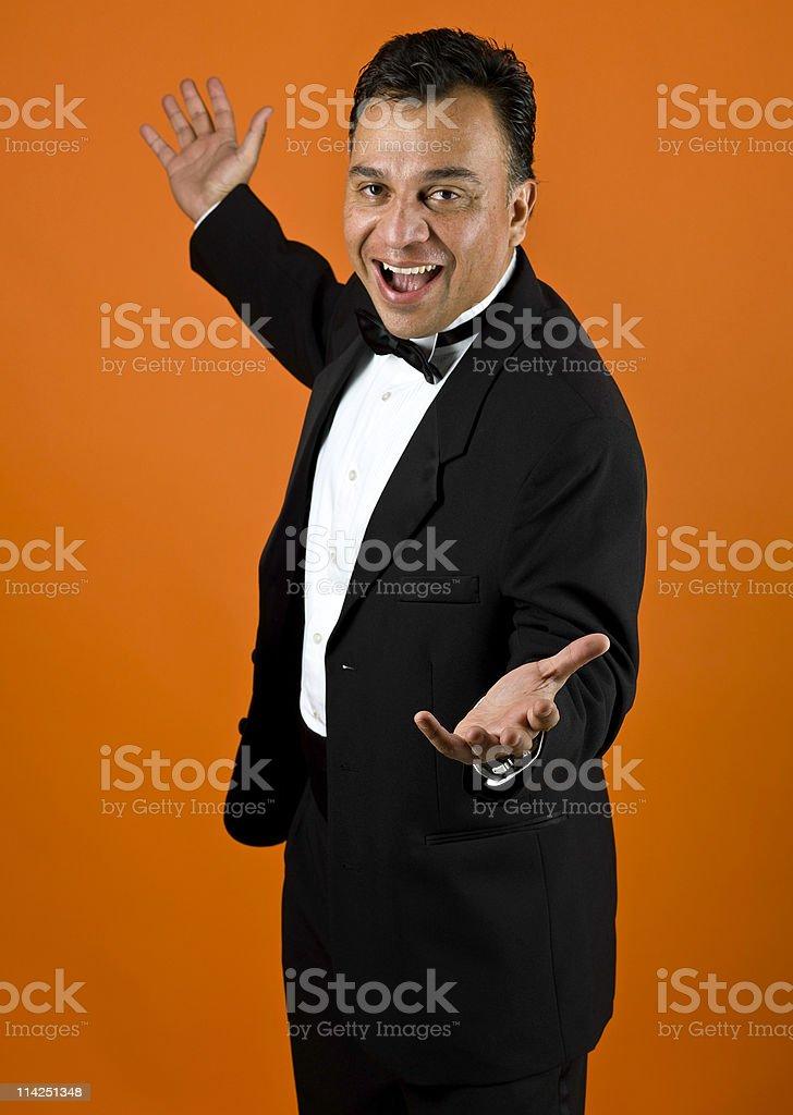 Entertainer royalty-free stock photo
