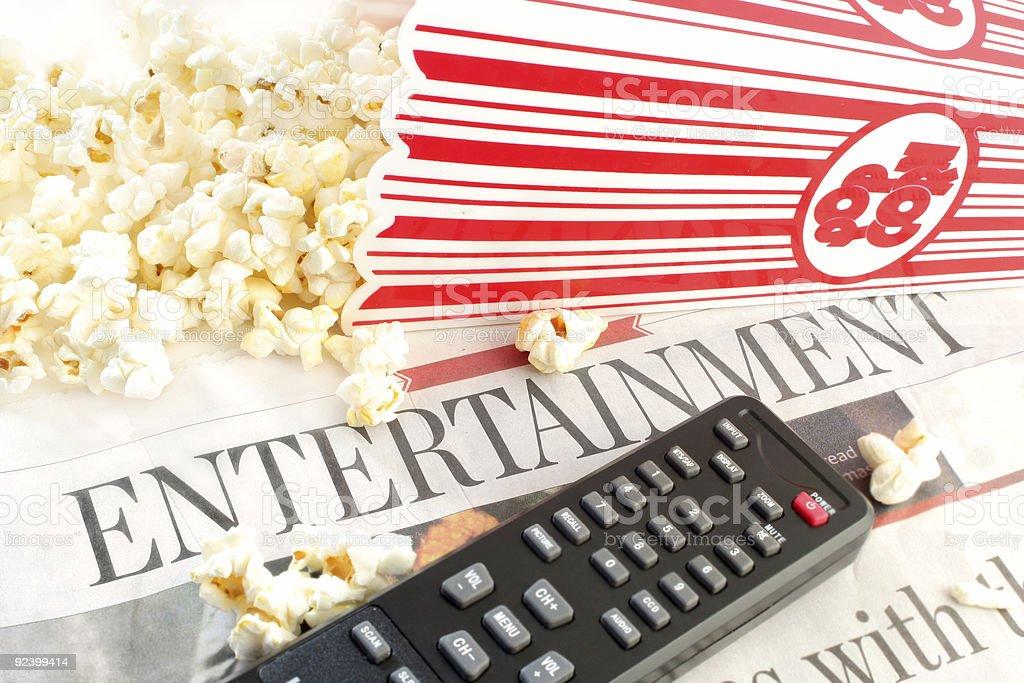 entertainment news royalty-free stock photo