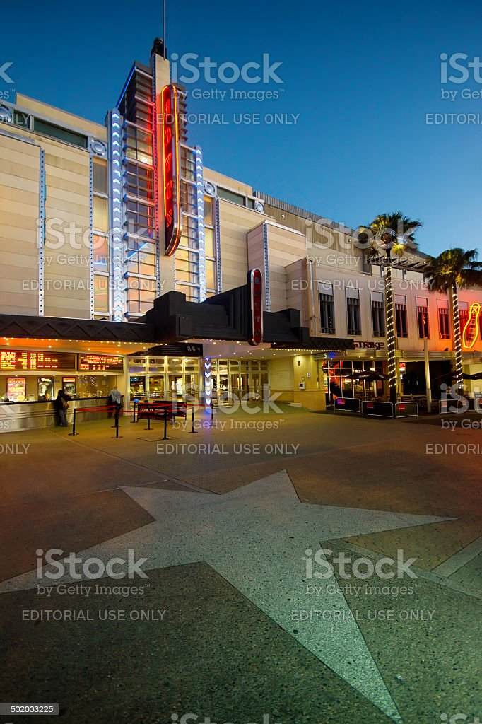 Entertainment Quarter, Moore Park royalty-free stock photo