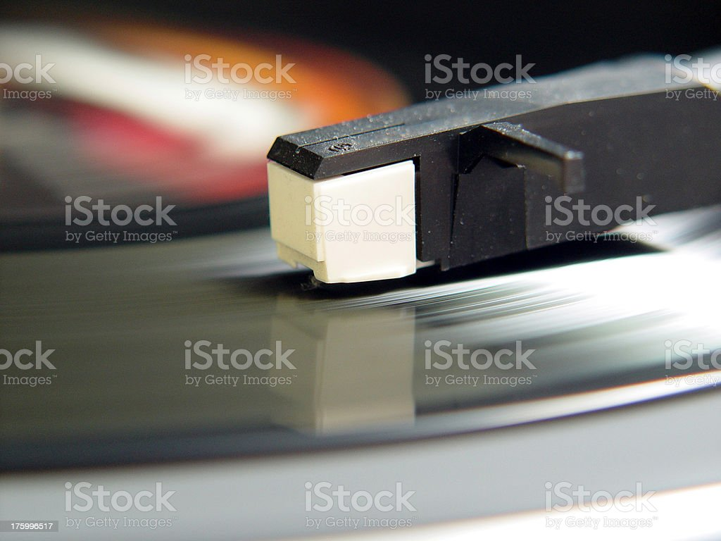 Entertainment Record Player stock photo
