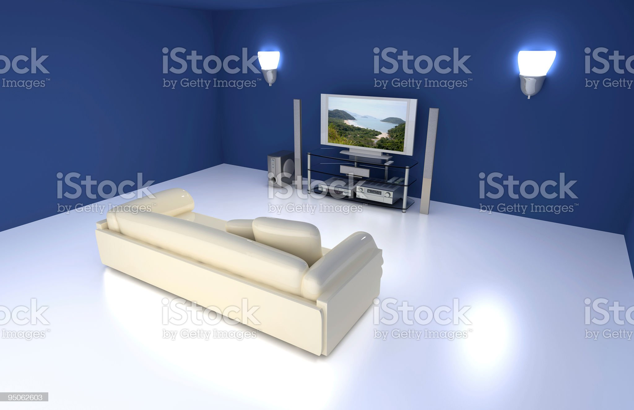 Entertainment Room royalty-free stock photo