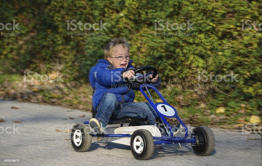 enthusiasm for speed stock photo
