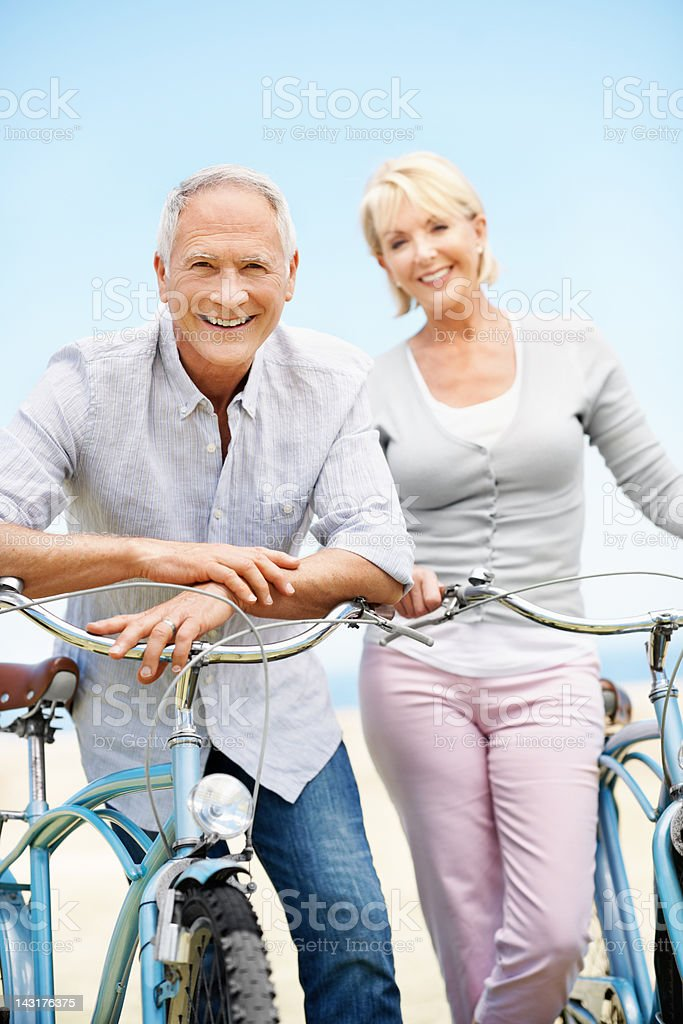 Enthusiasm is the secret to staying young royalty-free stock photo