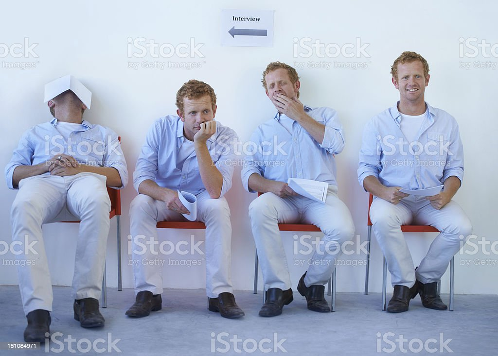 Enthusiasm waning stock photo