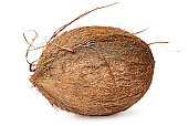 Entirely rotated coconut