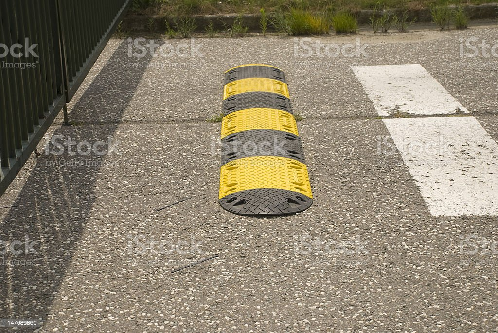 entrance barrier royalty-free stock photo