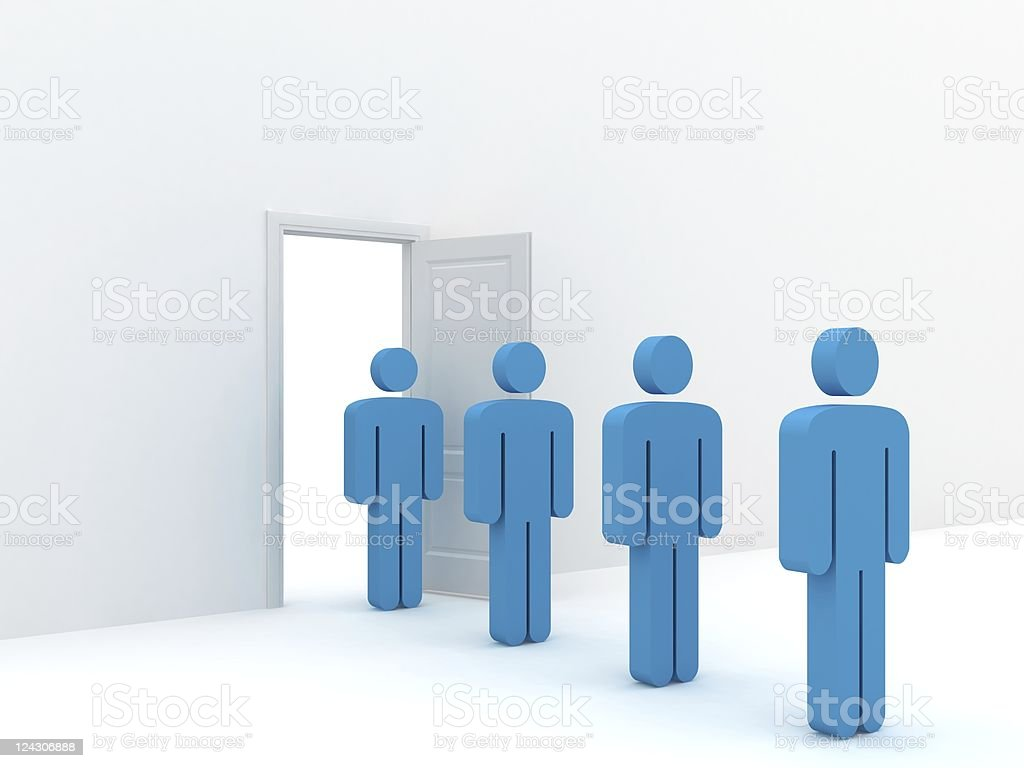 Entrance Concept royalty-free stock photo