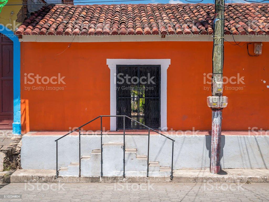 Entrance Door in Granada royalty-free stock photo