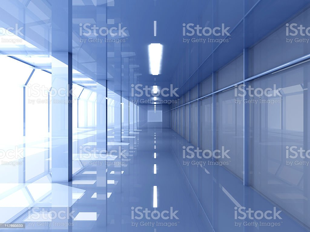 Entrance Hall Interior royalty-free stock photo