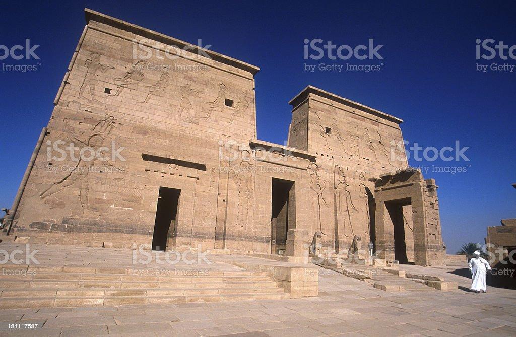 Entrance Horus stock photo