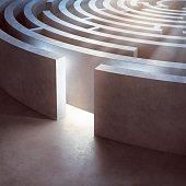 Entrance of a maze