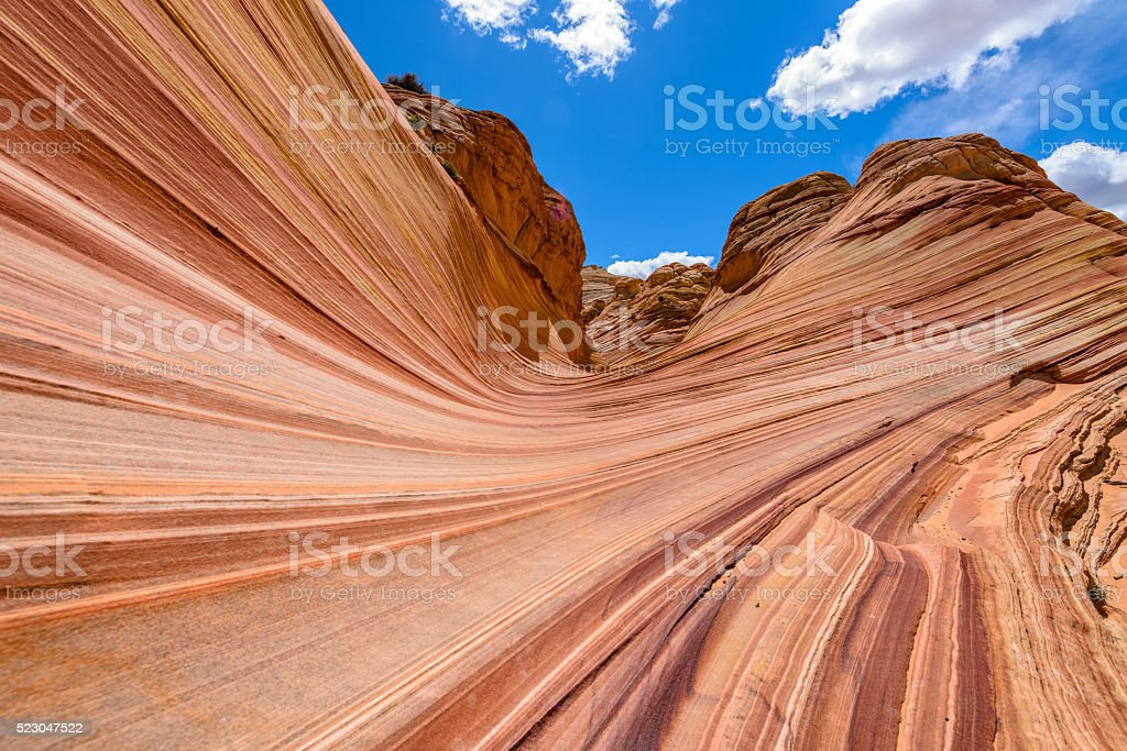 Entrance of The Wave stock photo