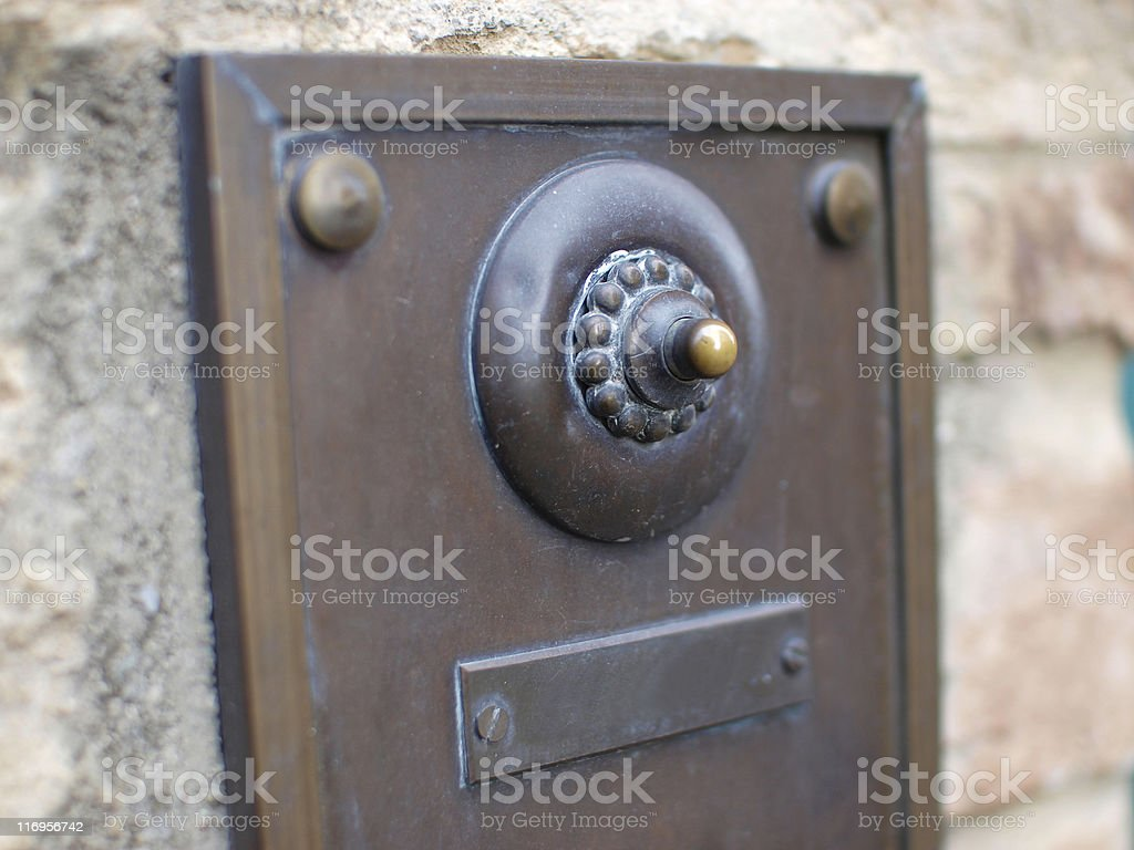 Doorbell, shallow depth-of-field.