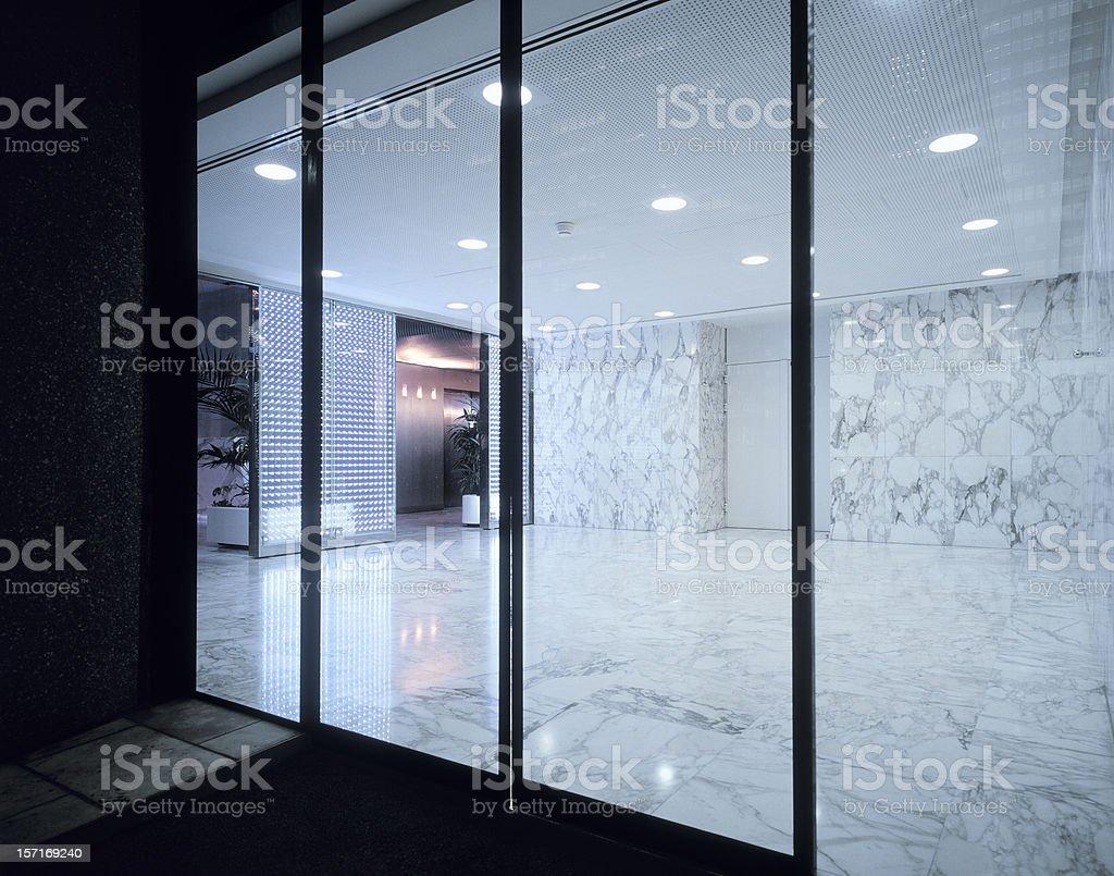 Entrance stock photo