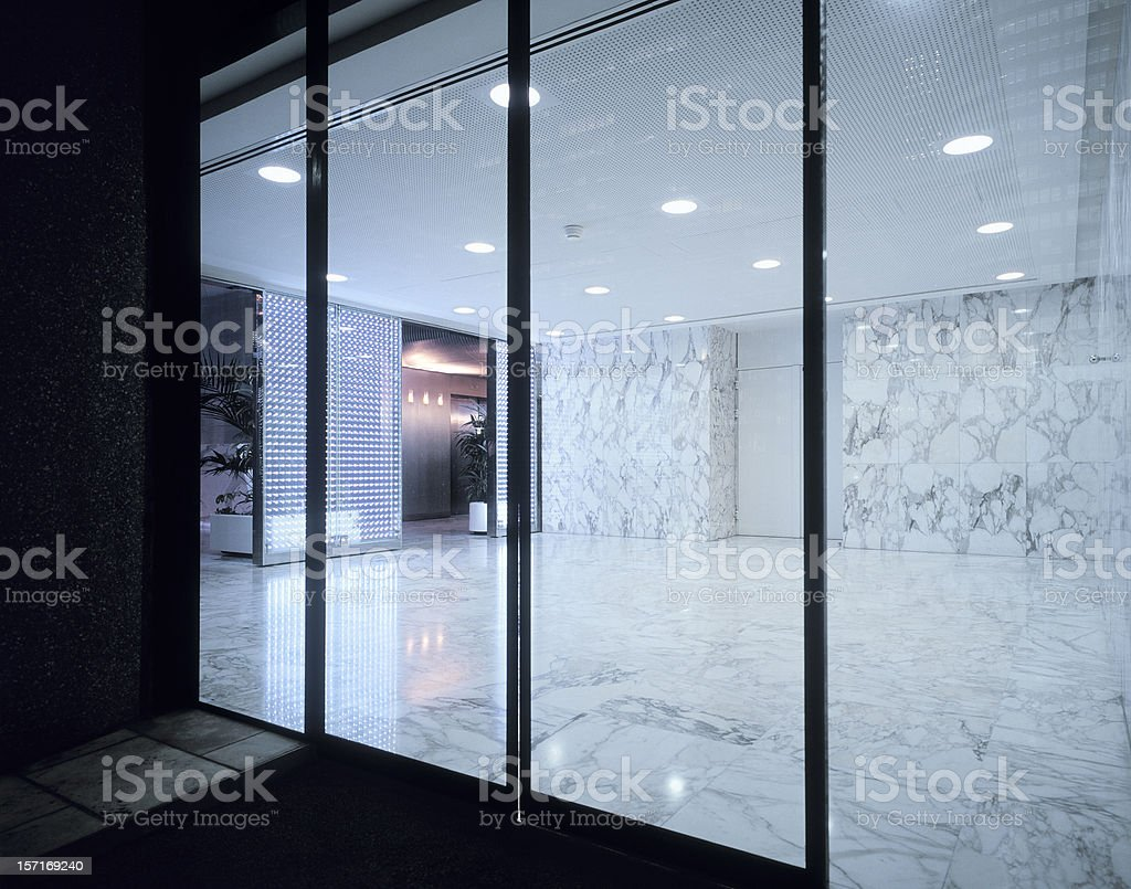 Entrance stock photo