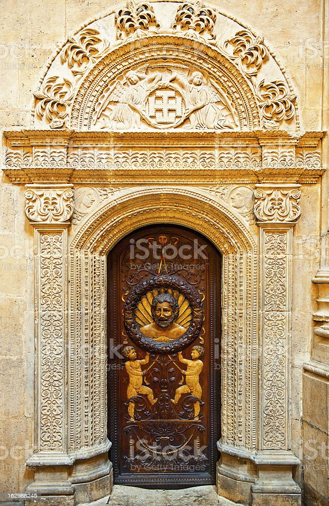 Door of The Cathedral in Burgos, Spain