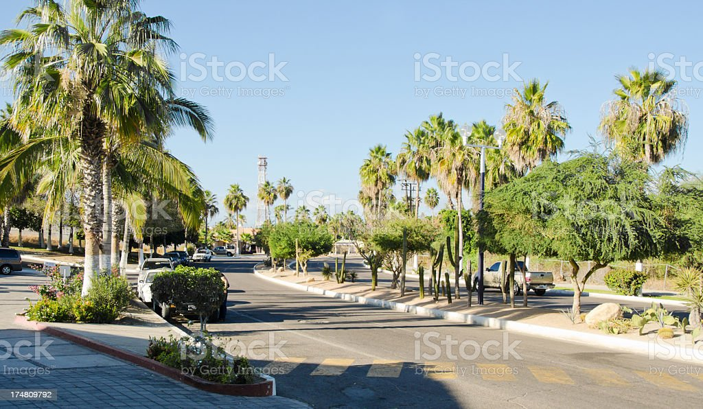 Entrance- San Jose del Cabo royalty-free stock photo