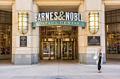 Entrance to Barnes and Noble bookstore