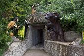 Entrance to Cave Bear Safari Park resort city Gelendzhik