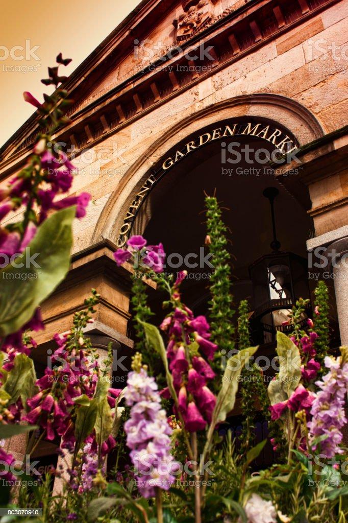 Entrance to Covent Garden London stock photo