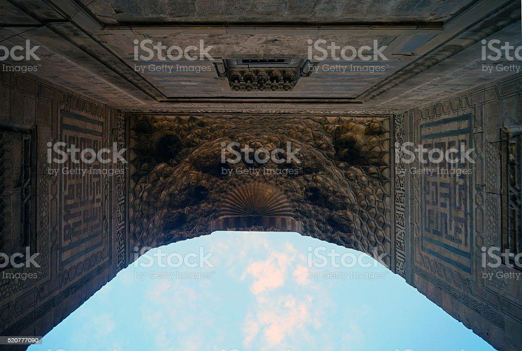 Entrance to Heaven stock photo