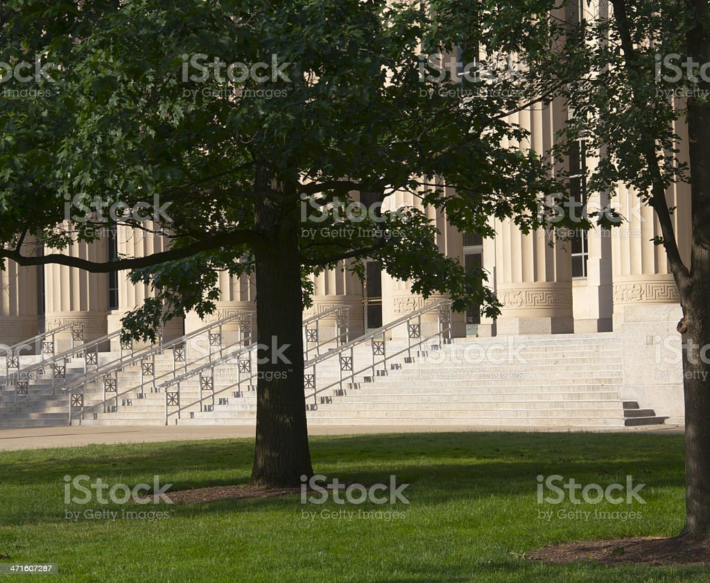 Entrance to Learning royalty-free stock photo