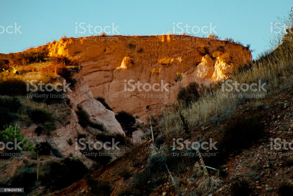 entrance to red rock canyon stock photo
