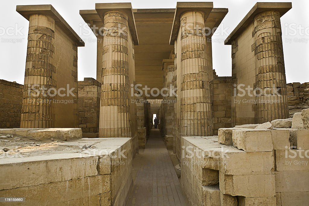 Entrance to temple royalty-free stock photo