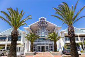 Entrance to V&A Waterfront Mall at Cape Town