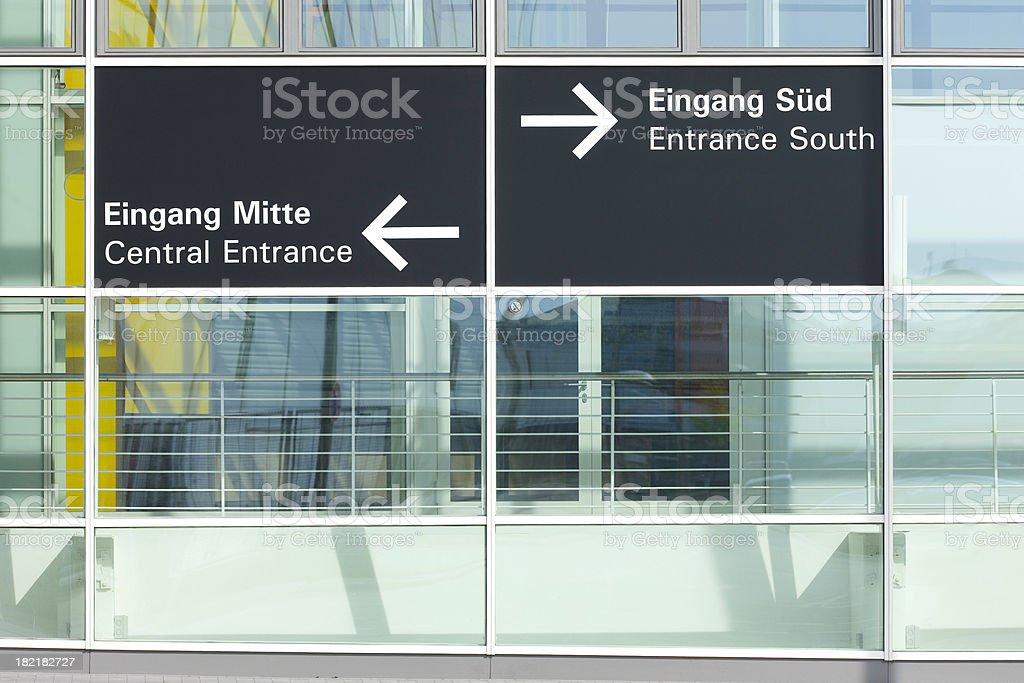 entrances to choose royalty-free stock photo