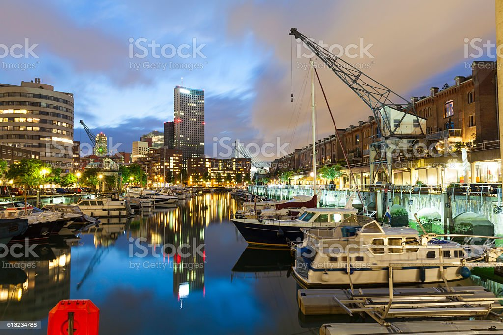 Entrepothaven, Rotterdam, Netherlands stock photo