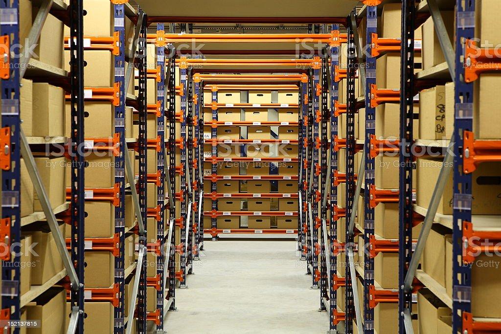 entrepôt stock photo