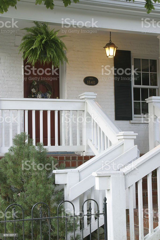 Entry Porch 2 royalty-free stock photo