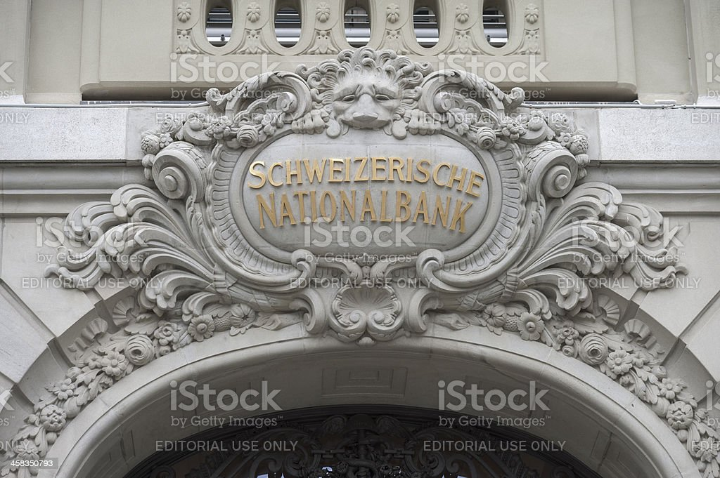 Swiss National Bank (SNB) stock photo