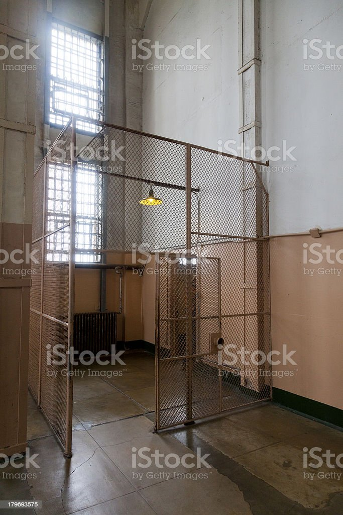 Entry to Alcatraz royalty-free stock photo